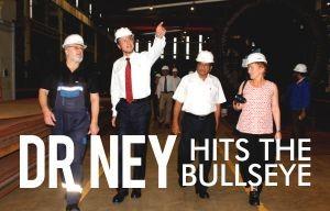 Dr Ney Hits The Bullseye