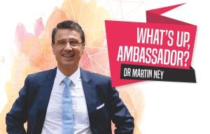 Dr. Martin Ney, German Ambassador to India | What's Up, Germany?