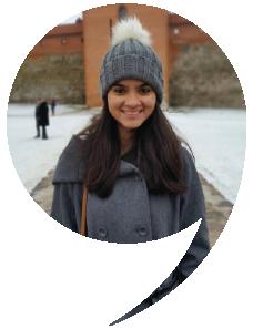 Divyanshi Pandey, Student