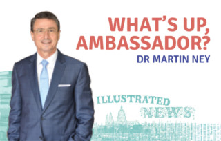What's Up, Ambassador?