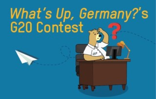 What's Up, Germany?'s G20 Contest