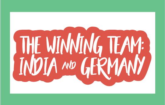 The Winning Team: India & Germany