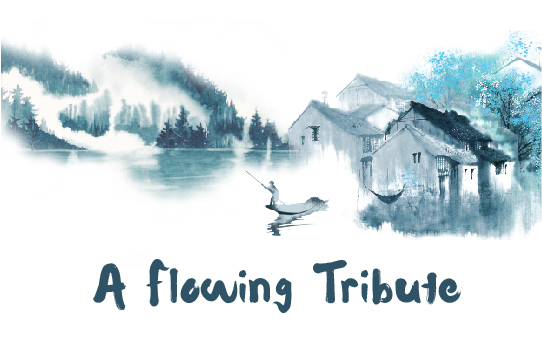 A Flowing Tribute